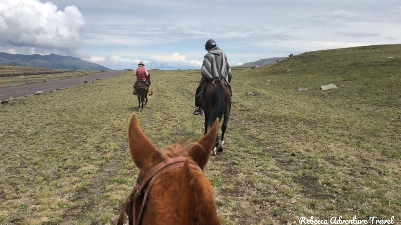 Andes horseback riding