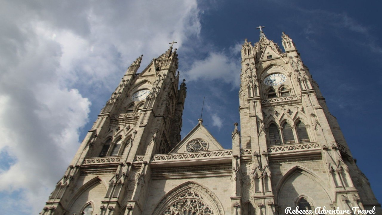 Old Town Quito church - Andes Mountains tours