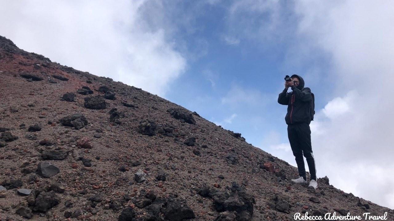 Cotopaxi Volcano climbing