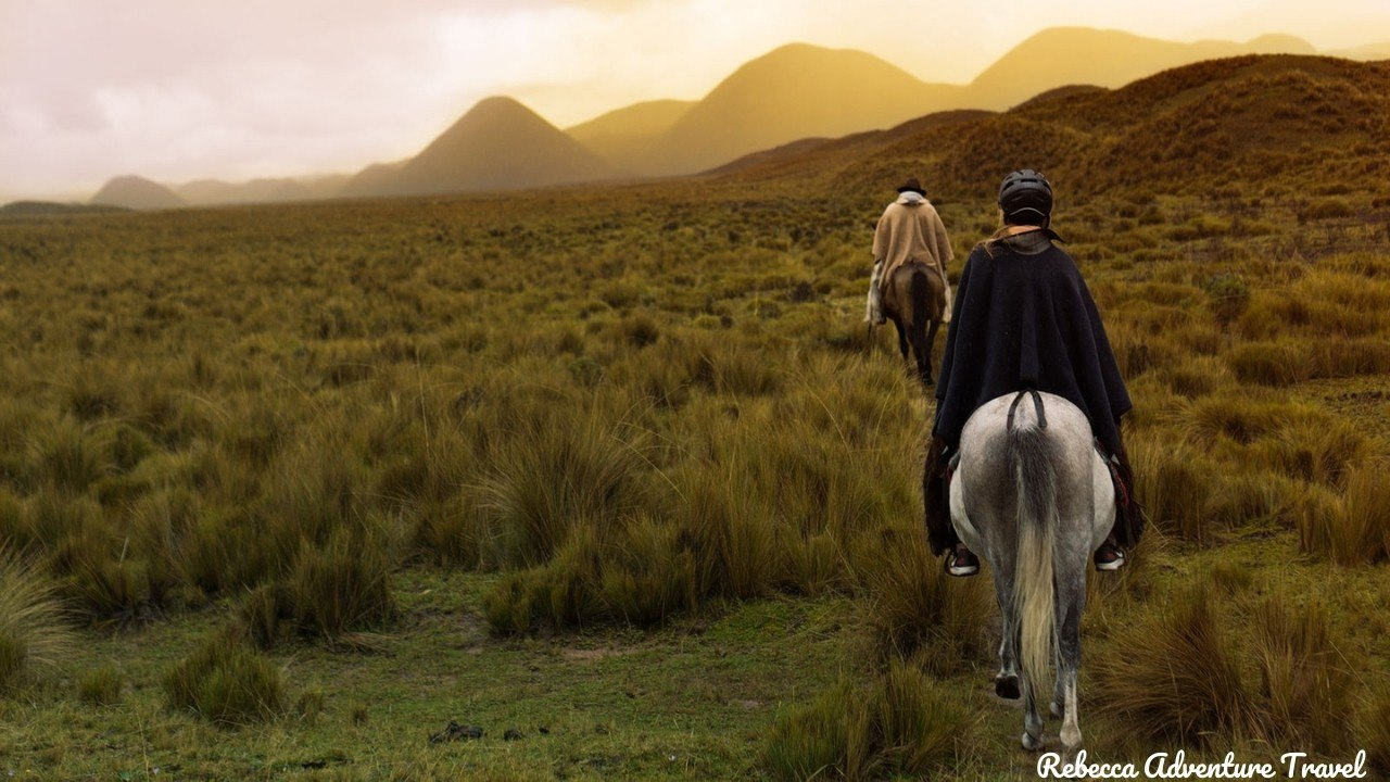 Horseback ride in the mountains - Ecuador highlights