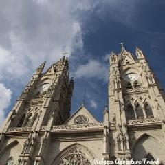Rebecca Adventure Travel Basilica Church in Quito