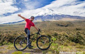 Biking at the Cotopaxi Volcano - Ecuador