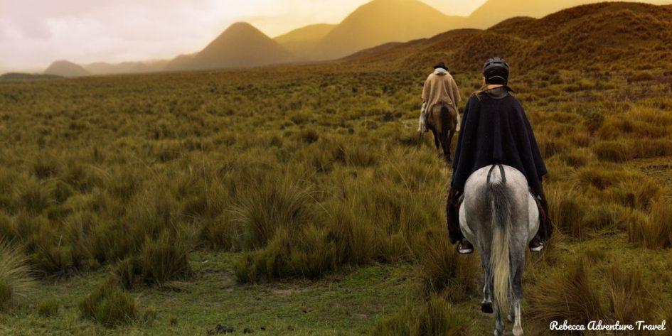 Cotopaxi horseback ride - Ecuador
