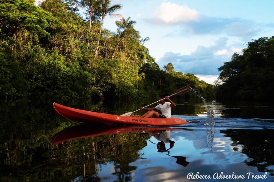 Amazon kayak