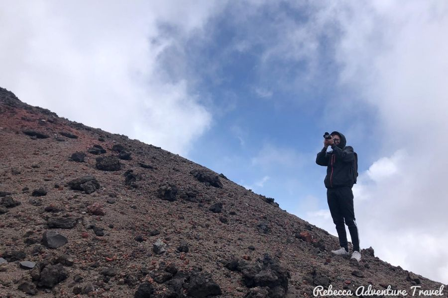 Joppe at Cotopaxi