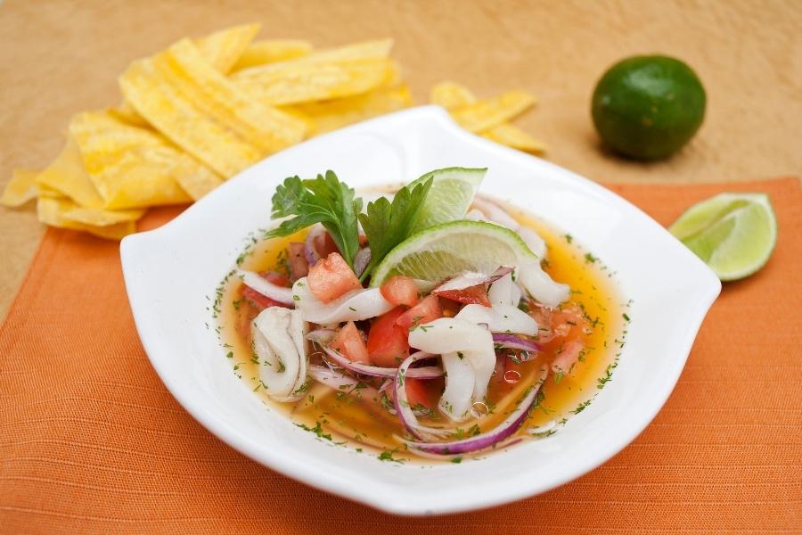 Ceviche de Conchalagua - Ecuadorian Food Guide